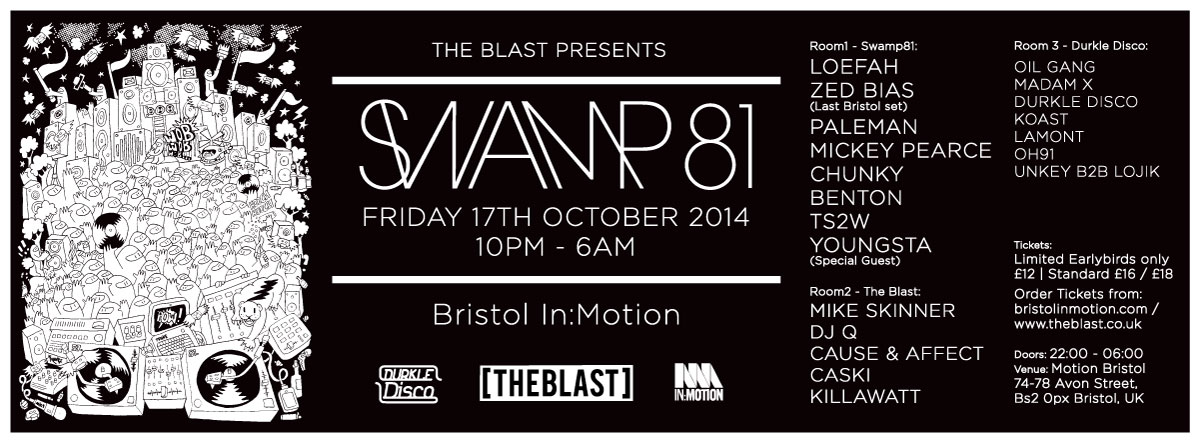 Lojik b2b Unkey studio mix for The Blast x Bristol In:Motion