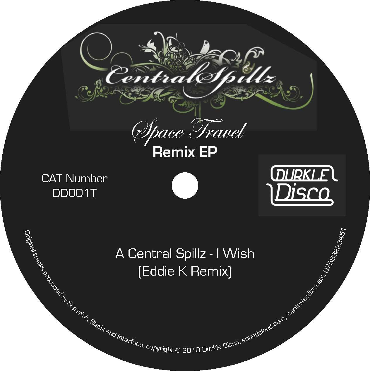 Central Spillz / Eddie K / Mensah – Space Travel Remixes – DD001